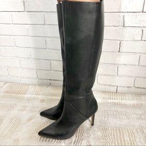 Franco Sarto Women's Black Langford Boots